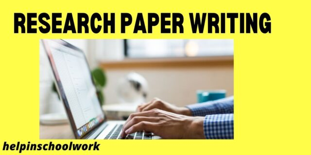 Fastest Way to Complete a Research Paper